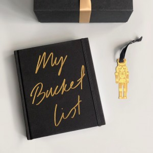 My Bucket List With Bookmark